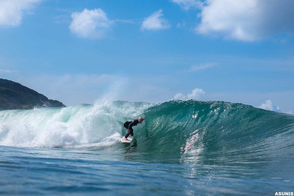 Fotografo del surf