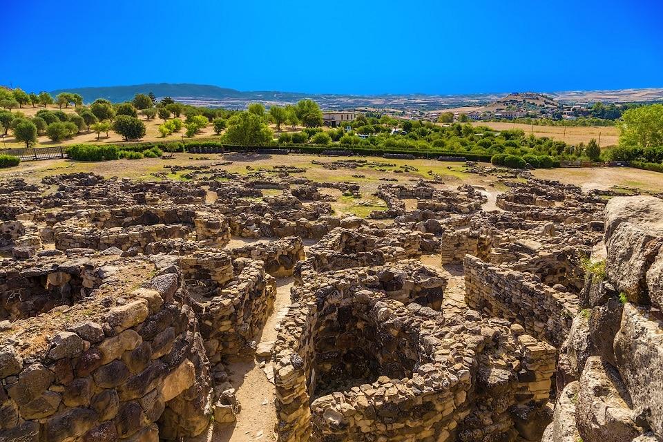El complejo nurágico prehistórico Su Nuraxi de Barumini, Patrimonio de la Humanidad por la UNESCO