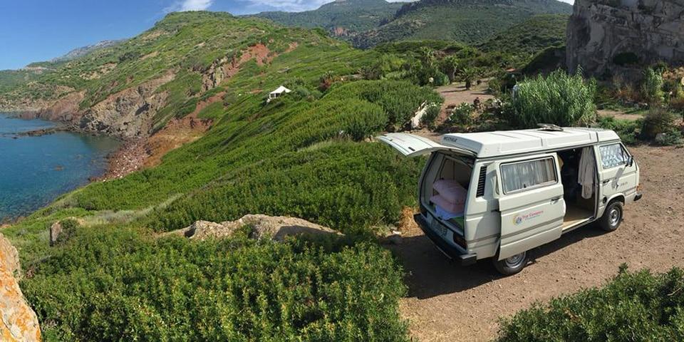 Wildcampen mit dem Wohnmobil in Sardinien
