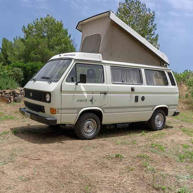 Location Camping car Sardaigne | Westfalia Joker T3