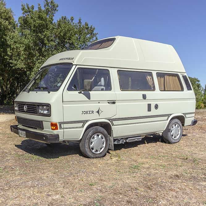 Camper rental Sardinia | Westfalia Joker T3 high roof